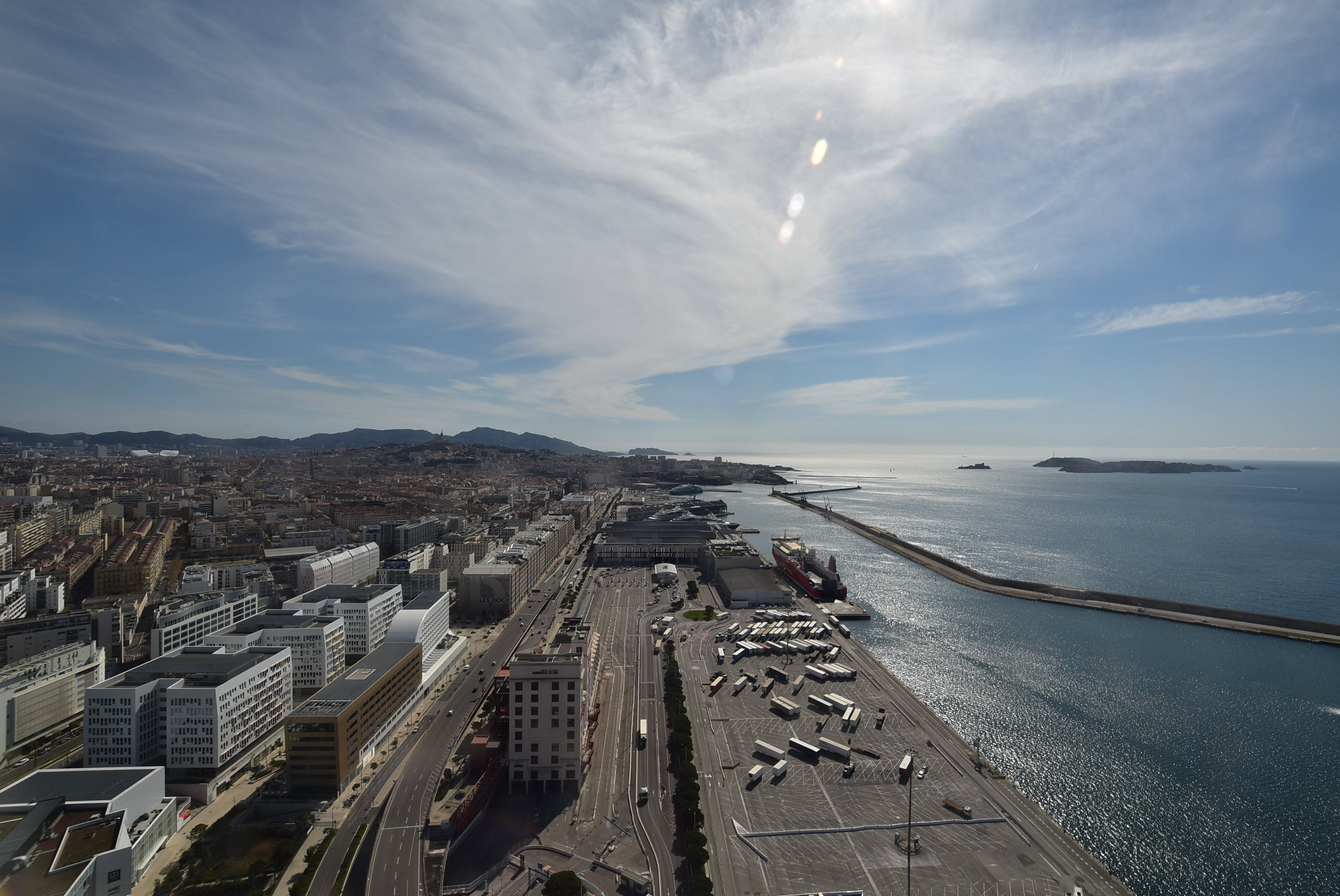 webcam Marseille - Sky Center